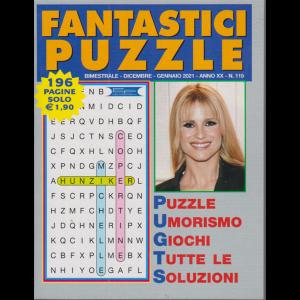 Fantastici Puzzle - n. 115 - bimestrale - dicembre - gennaio 2021 - 196 pagine