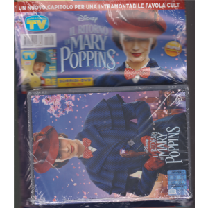 Sorrisi speciale +  dvd cinema Il ritorno di Mary Poppins - dvd + sorrisi