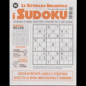 La settimana enigmistica-  i sudoku - n. 121 - 12 novembre 2020 - settimanale
