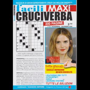 Facili Cruciverba Maxi - n. 12 - novembre - dicembre 2020 - bimestrale - 200 pagine
