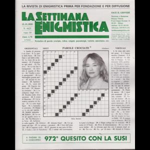 La Settimana Enigmistica - n. 4625 - 12/11/2020 - settimanale