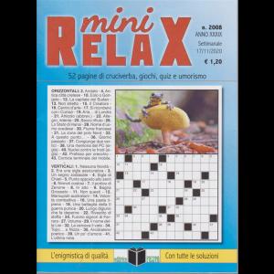 Mini relax - n. 2008 - settimanale - 17/11/2020 -
