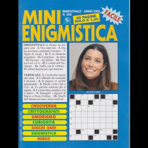 Mini Enigmistica - n. 206 - bimestrale - dicembre - gennaio 2021 - 68 pagine