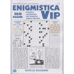 Abbonamento Enigmistica Vip (cartaceo mensile)