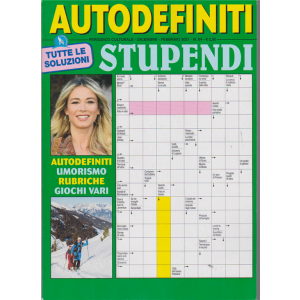Autodefiniti Stupendi - n. 84 - dicembre - febbraio 2021 -