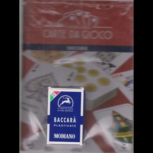 Il mondo delle carte da gioco - Baccarà - n. 12 - Plastificate - Modiano - settimanale - 14/11/2020 -