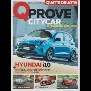 Quattroruote Dossier - Q Prove citycar - n. 81 trimestrale - giugno 2020 -
