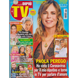 Dipiu' Tv - n. 47 - settimanale - 23 novembre 2020