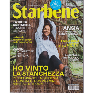 Starbene - n. 24 - dicembre 2020 - mensile