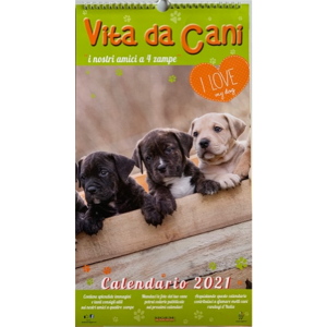 Calendario 2021 Vita da Cani - cm. 24 x 44
