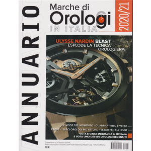 Marche  di Orologi in Italia - Annuario 2020/21 -