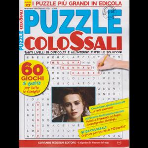 Puzzle Colossali - n. 27 - dicembre 2020 gennaio 2021 - bimestrale