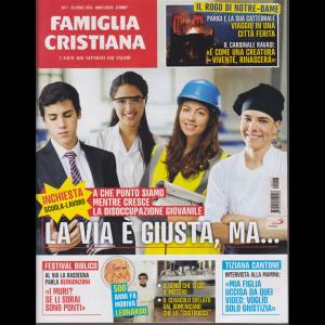 Famiglia Cristiana -n. 17 - 28 aprile 2019 - settimanale