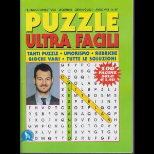 Puzzle  Ultra  Facili - n. 97 - bimestrale - dicembre - gennaio 2021 - 100 pagine