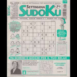 Settimana Sudoku - n. 797 - settimanale - 20 novembre 2020