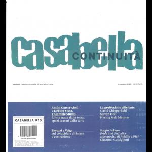 Casabella continuità - mensile n. 915 Novembre 2020