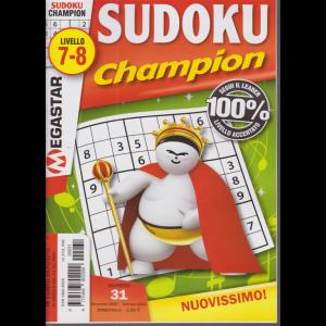 Sudoku Champion - livello 7-8 - n. 31 - dicembre 2020 - bimestrale