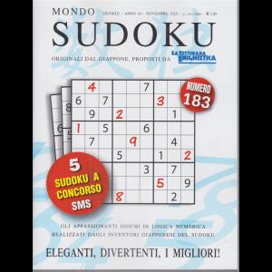 Mondo Sudoku - n. 183 - mensile - novembre 2020