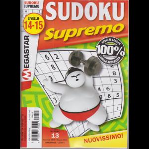 Sudoku Supremo - n. 13 - livello 14-15 - bimestrale- dicembre - gennaio 2021