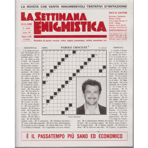 La Settimana Enigmistica - n. 4626 - 19/11/2020 - settimanale