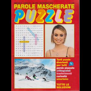 Parole Mascherate puzzle - n. 476 - mensile - dicembre 2020