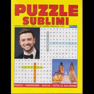 Puzzle sublimi - n. 66 - bimestrale - dicembre - gennaio 2021 -