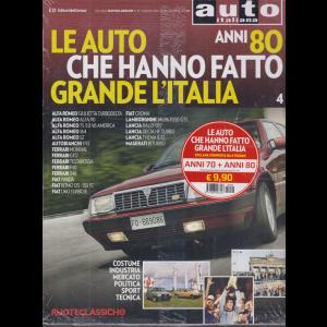 Gal.Ruoteclassiche -  Le auto che hanno fatto grande l'Italia - anni 70 + anni 80 - 2 riviste