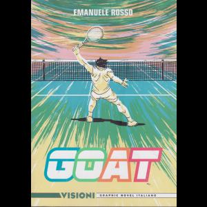 Graphic Novel Italia - Goat - Visioni - n. 29 - Emanuele Rosso - settimanale -