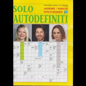 Abbonamento Solo Autodefiniti (cartaceo  mensile)