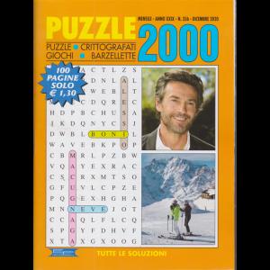 Puzzle 2000 - n. 356 - mensile - dicembre 2020 - 100 pagine