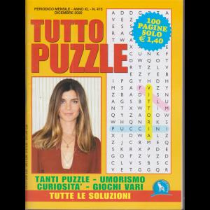 Tutto Puzzle - n. 475 - mensile - dicembre 2020 - 100 pagine