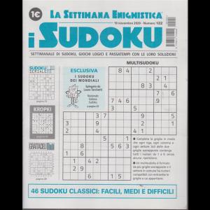 La settimana enigmistica - i sudoku - n. 122 - 19 novembre 2020 - settimanale