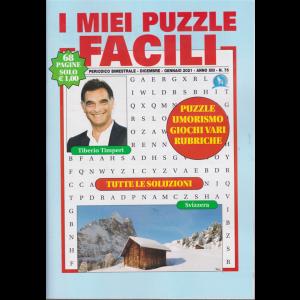 I miei puzzle facili -- n. 75 - bimestrale - dicembre - gennaio 2021 - 68 pagine