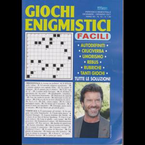 Giochi Enigmistici Facili - n. 72 - bimestrale - dicembre - gennaio 2021 -