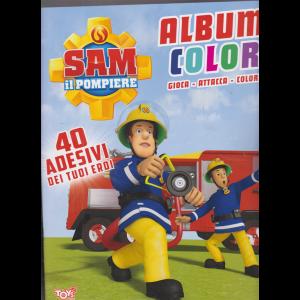 Toys2 Sticker - Sam il pompiere - Album color - n. 45 - bimestrale - 19 novembre 2020 -