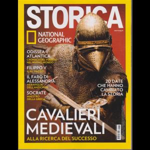 Storica - National Geographic - Cavalieri medievali - n. 142 - dicembre 2020 - mensile