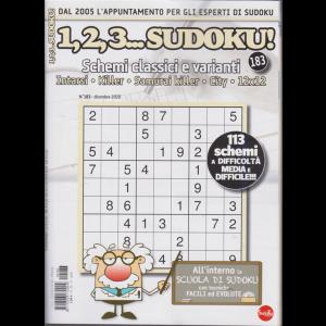 1,2,3 Sudoku! - n. 183 - mensile - 20/11/2020 -