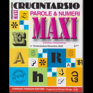 Maxi Crucintarsio - n. 76 - novembre - dicembre 2020 - trimestrale