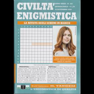 Civilta' Enigmistica - n. 432 - quindicinale - 20 novembre 2020 -