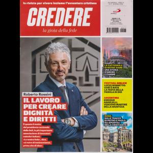 Credere - La Gioia Della Fede - n. 17 - settimanale - 28 aprile 2019 -