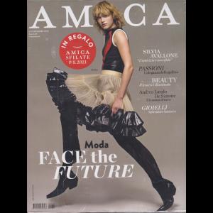 Amica -+ Amica sfilate primavera - estate 2021 - n. 12 - dicembre 2020 - mensile - 2 riviste