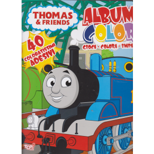 Toys2 Thomas & friends - Album color - n. 41 - bimestrale - 19 novembre 2020