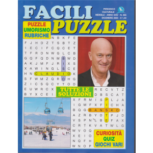 Facili Puzzle - n. 285 - mensile - dicembre 2020