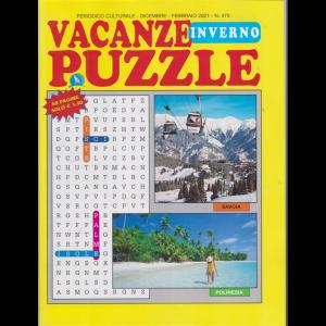 Vacanze Puzzle  inverno - n. 475 - dicembre - febbraio 2020 - 68 pagine