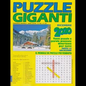Puzzle Giganti - n. 440 - mensile - dicembre 2020 -