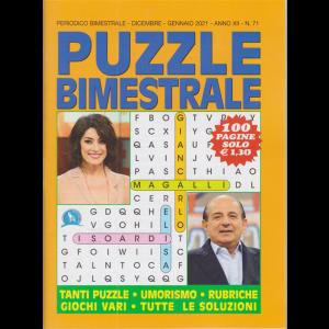 Puzzle  Bimestrale - n. 71 - bimestrale - dicembre - gennaio 2020 - 100 pagine
