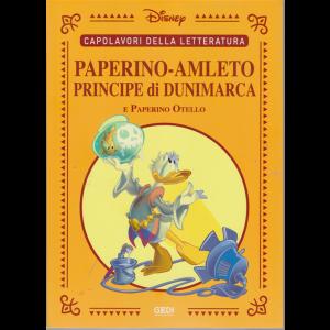 Capolavori della letteratura - Paperino - Amleto principe di Dunimarca e Paperino Otello - n. 37 - 21/11/2020 - settimanale -