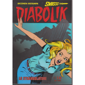 Abbonamento Diabolik Swiisss (cartaceo  mensile)