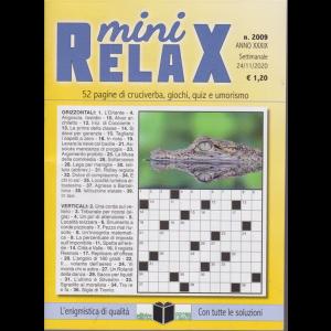 Mini Relax - n. 2009 - settimanale - 24/11/2020 -