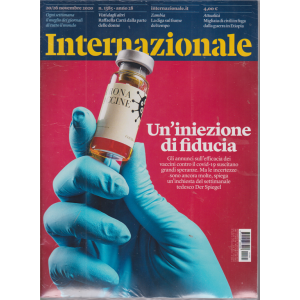 Internazionale - n. 1385 - settimanale - 20/26 novembre 2020 - 2 riviste